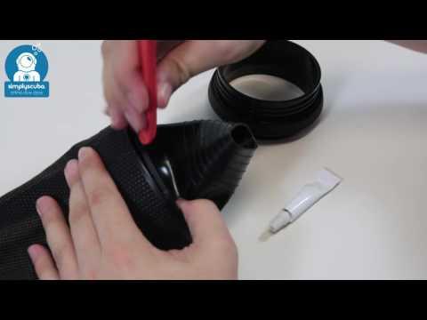 Waterproof Ultima Dry Glove System – www.simpluyscuba.com