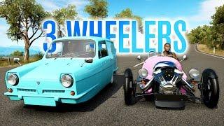 3 WHEELER BATTLE! | MORGAN VS RELIANT | Forza Horizon 3 w/ The Nobeds