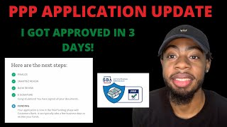 HOW TO GET THE PPP LOAN FAST 🚨│ I GOT MY PPP APPLICATION APPROVED IN 3 DAYS!│SMART BIZ 🏦 LENDER 💰