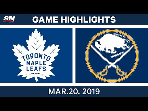 NHL Game Highlights | Maple Leafs vs. Sabres - March 20, 2019