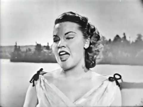 Patti Page--Wish You Were Here, 1952 TV
