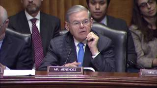 Menendez at Confronting N. Korea Threat Hearing