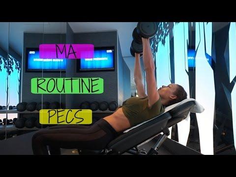 Comme faire les muscles pectoraux par les resserrés