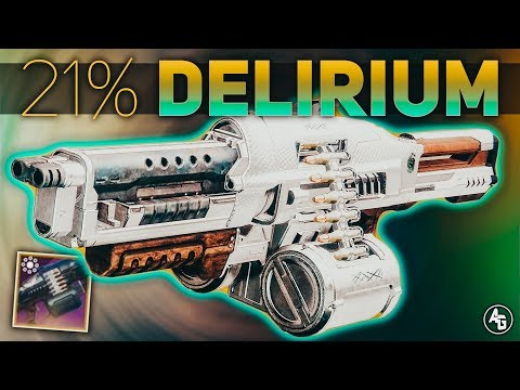 Destiny 2 | 21% Delirium Gambit Pinnacle Weapon Review (Season of the Drifter)