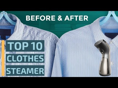 Top 10: Best Handheld Clothes Steamers in 2019 / How to Steam Your Clothes on Travel or Home