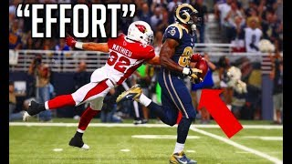 NFL Best Effort Plays || HD