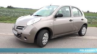 Nissan Micra - autóbérlés 5 490 Ft /nap