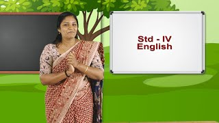 Standard 4 | English | Class – 01