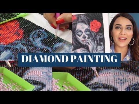 diamond painting tutorial so easy