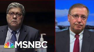 AG Barr's Testimony Drives Former U.S. Attorney Chuck Rosenberg To Utter 'I Miss Jeff Sessions'