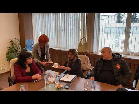 Главният прокурор Иван Гешев посети Самоков след операция срещу битовата престъпленост