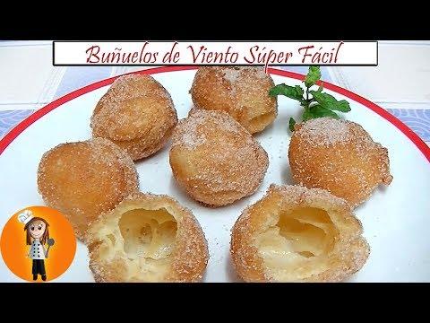 Buñuelos de Viento Súper Fácil | Receta de Cocina en Familia