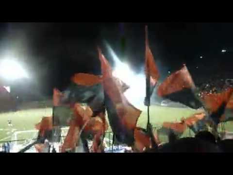 """""""Legión Roja y Negra Walter Ferreti"""" Barra: Legión Roja y Negra • Club: Walter Ferretti"""
