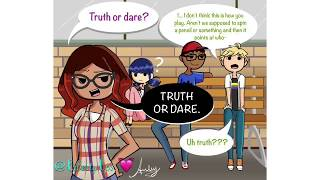 """Truth or Dare"" ~ Miraculous Ladybug Comic Dub"