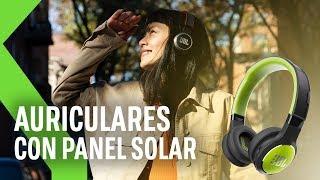 AURICULARES que se cargan con LUZ SOLAR y ARTIFICIAL: JBL afirma haberlos creado