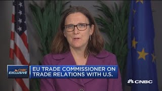 We share U.S. criticisms of China trade: EU trade commissioner