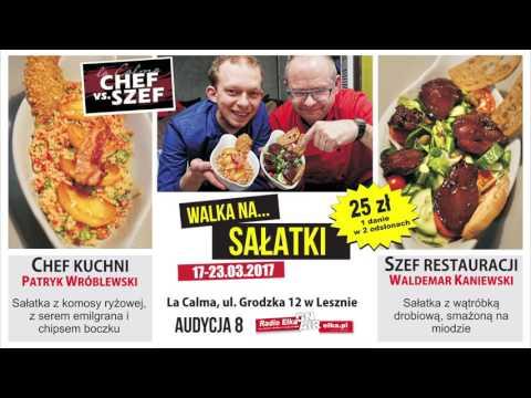Wideo1: Chef vs Szef 8 - pojedynek na wiosenne sałatki