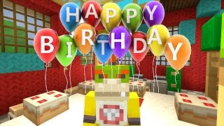Minecraft Wii U - Nintendo Fun House - Bowser Jr's Birthday! [41]