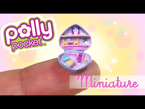 Miniature Polly Pocket Tutorial // DIY Miniature Dollhouse