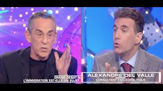 Alexandre del Valle face aux immigrationnistes, les moments forts