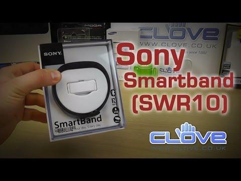 Sony SmartBand (SWR10) Unboxing