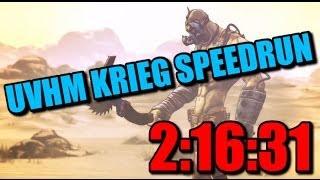UVHM Krieg Speedrun in 2:16:31