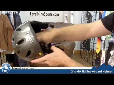 Giro G9 Ski Snowboard Helmet