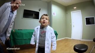 El paciente tiene algo extraño en el estómago. Camera Kidz. Antena 3