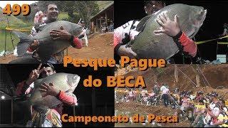 Torneio de Pesca esportiva no BECA - Fishingtur na TV 499