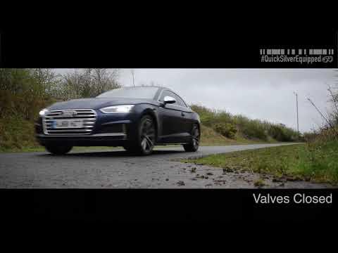 2018 Audi A5 B9 w/ ARMYTRIX S5-Style Quad Tips Conversion