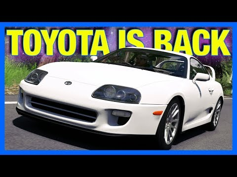 Forza Horizon 4 : TOYOTA IS BACK!!