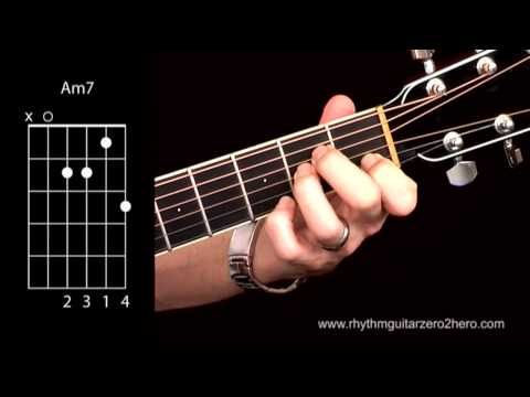 Learn Guitar Chords: Am7 - Beginner Acoustic Guitar Lessons