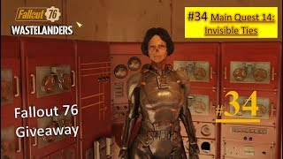 Fallout 76 Wastelanders DLC - Invisible Ties - Go to 7th hole - Confront the Spy - Talk to Jen