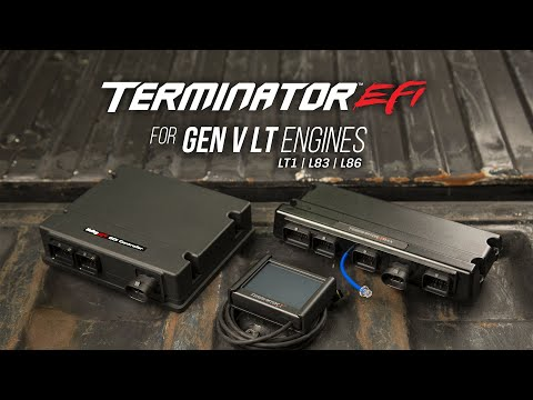 Swap a Gen V LT Engine into Your Car with Holley Terminator X EFI