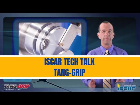 Parting and Grooving with ISCAR's TANG-GRIP products