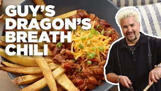 Guy Fieris DRAGONS Breath Chili With French FRIES | Food Network