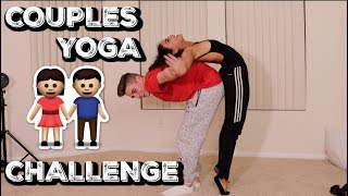 COUPLES YOGA CHALLENGE w/ Daniella Perkins | Zach Clayton
