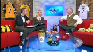 Holloway on Soccer AM discussing his chickens, cocks and leaving Plymouth Argyle