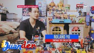 iJuander: Pinoy picker, ibinahagi kung bakit siya nangongolekta ng vintage toys