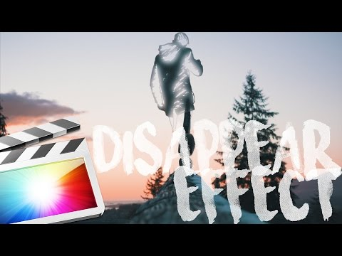 MAKE YOURSELF DISAPPEAR! – FINAL CUT PRO X (Tutorial)