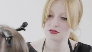 TIGI copyright ©olour Step by Step Look Tatiana Tutorial