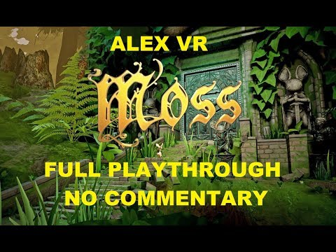 Moss for Oculus Quest - Full Playthrough No Commentary Longplay Gameplay
