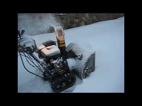Практическое испытание снегоуборщиков MST 550 AIKEN и STT1170 E CHAMPION