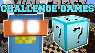 Minecraft: ROBOT TED CHALLENGE GAMES - Lucky Block Mod - Modded Mini-Game