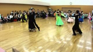 社交ダンス タンゴ 決勝 第13回ヤングサークル10ダンス選手権 若者サークル競技会