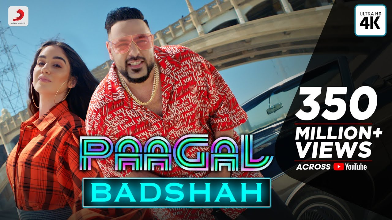 पागल - Paagal Lyrics in Hindi - Badshah