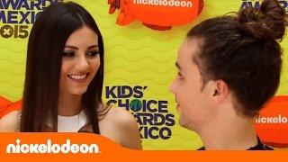 Виктория Джастис, Victoria Justice en los KCA México - Kids' Choice Awards México 2015 - Mundonick Latinoamérica