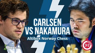 Norway Blitz Chess Tournament: Carlsen vs Nakamura