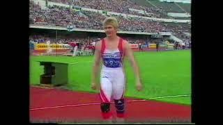 Ilke Wyludda 65.40m Discus Helsinki 1994