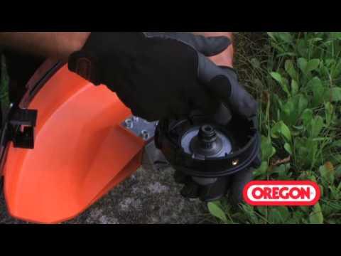 Oregon Fadenkopf mit Alu-Knopf